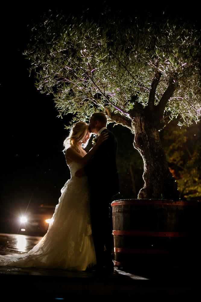 Kaj pa ko na poročni dan dežuje?